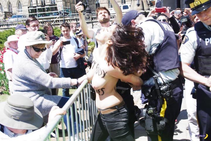 FEMEN атакует Канаду
