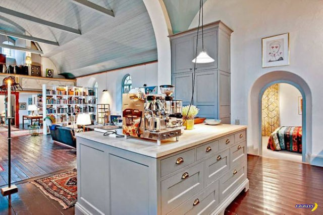 Шведская церковь стала жилым домом для семьи