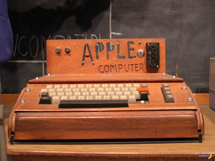 Деревянный Apple I нашли в мусорке