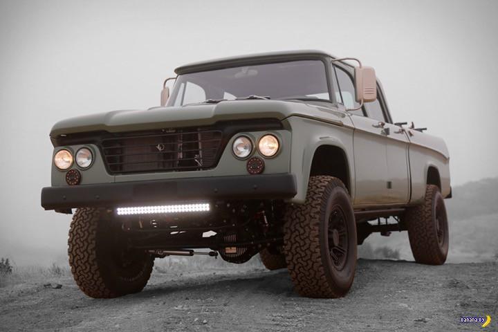 Модный Icon Dodge Power Wagon Crew Cab