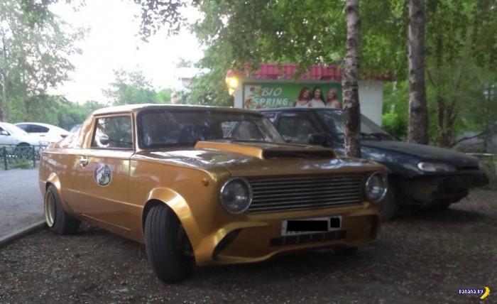 ВАЗ-2102 и болгарка