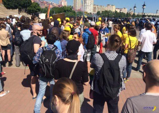 Гей парад в Киеве и радикалы