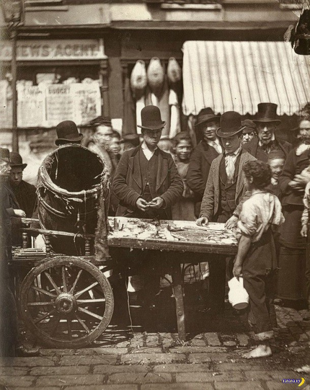 Улицы Лондона на фотографиях 1876-1877 годов