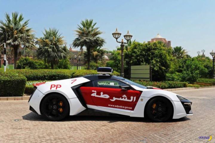 Полиция ОАЭ снова получила обновку