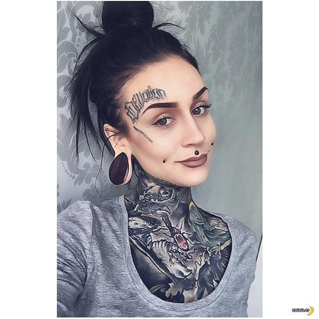 Дочка Сатаны или красотка?