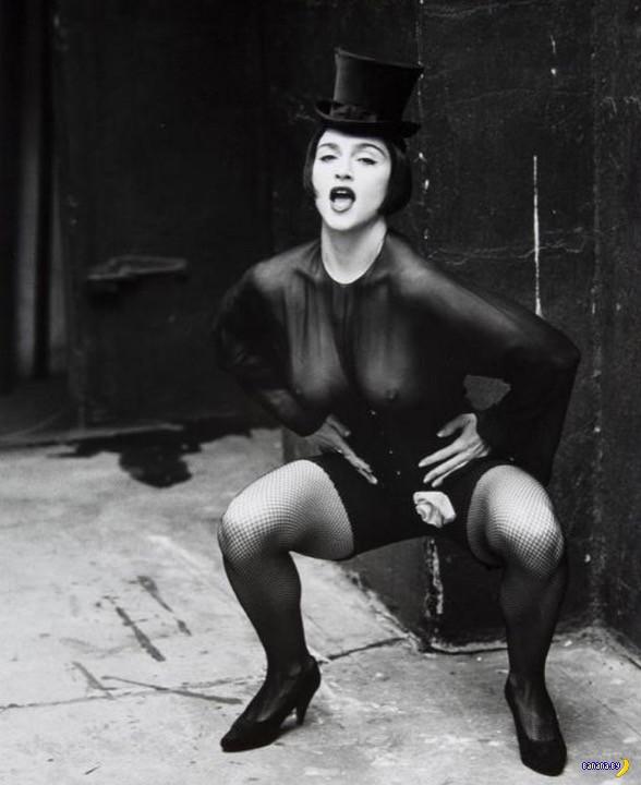 Снова всплыли интимные фотки Мадонны