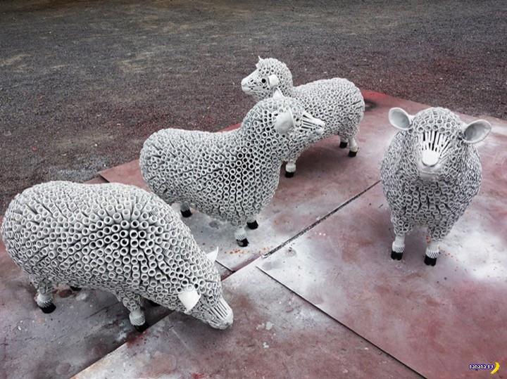 Тайский мастер создает шедевры из металлолома