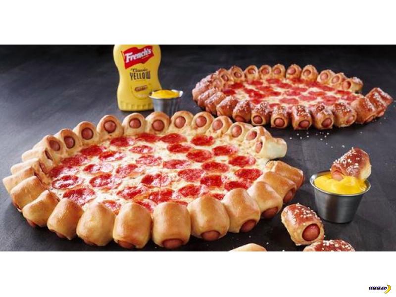 Очередное безумие с пиццей!