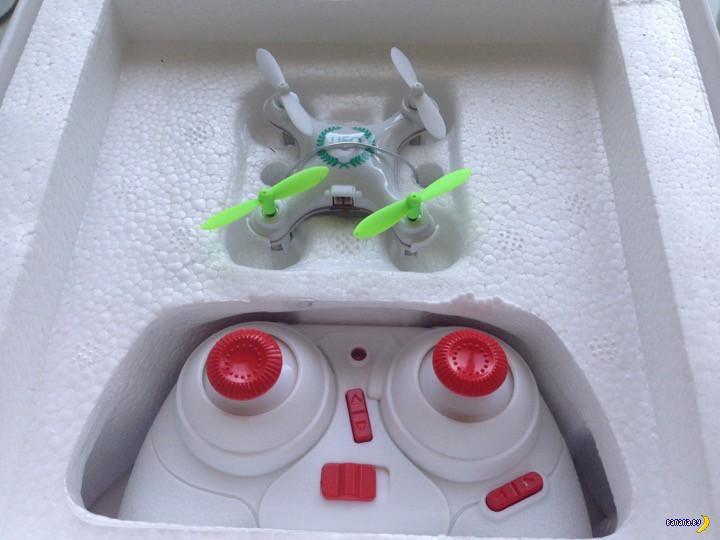 Tinydeal: дрон-мучитель для кота