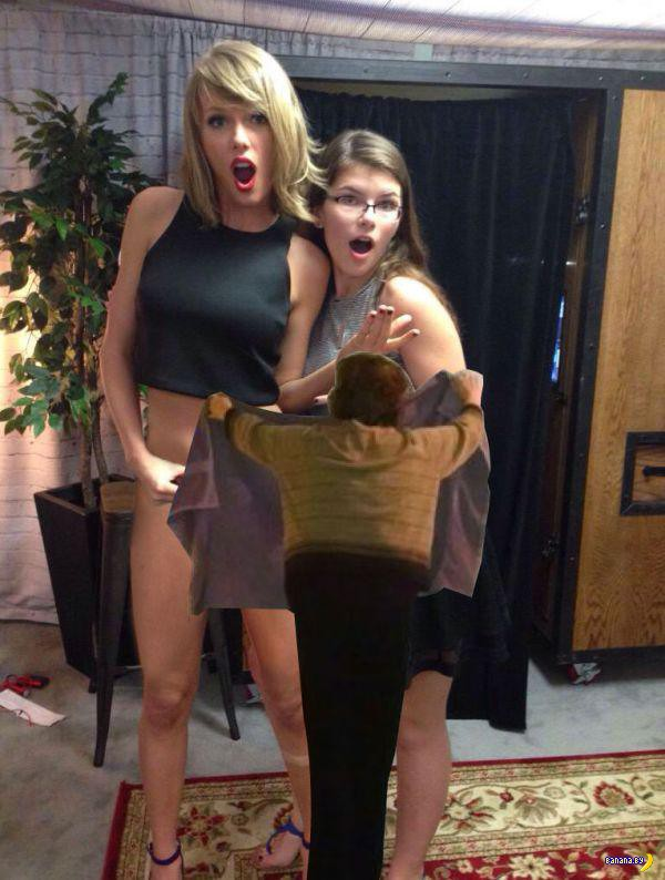 Тейлор Свифт показала животик и вызвала Фотожабу!