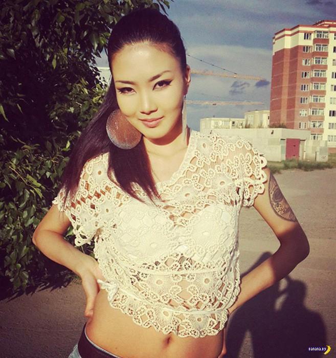 Монгольские девушки! Снова ШОК!