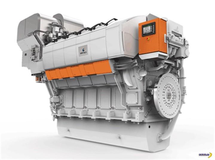 Самый большой дизельный двигатель