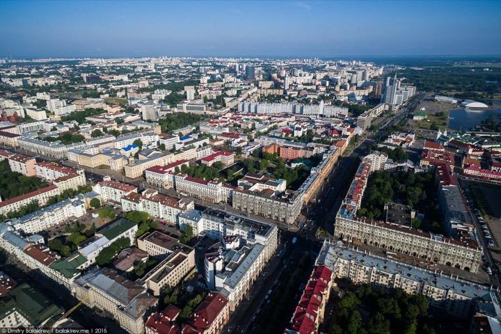 Российский блогер сделал запретные фото Минска