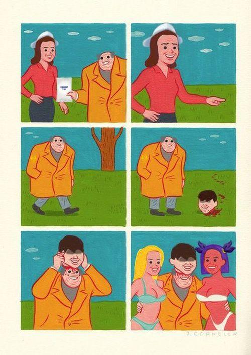 Комиксы и рожи - 52