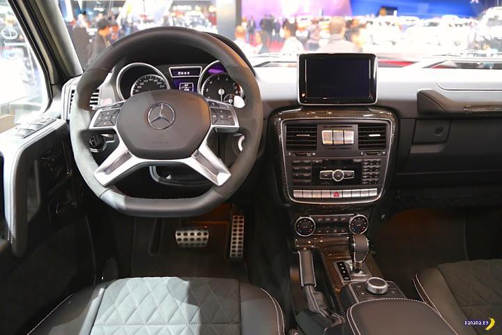Mercedes-Benz G500 4x4² идет в серию!