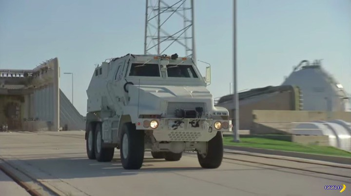 Бронетранспортёры MRAP для NASA