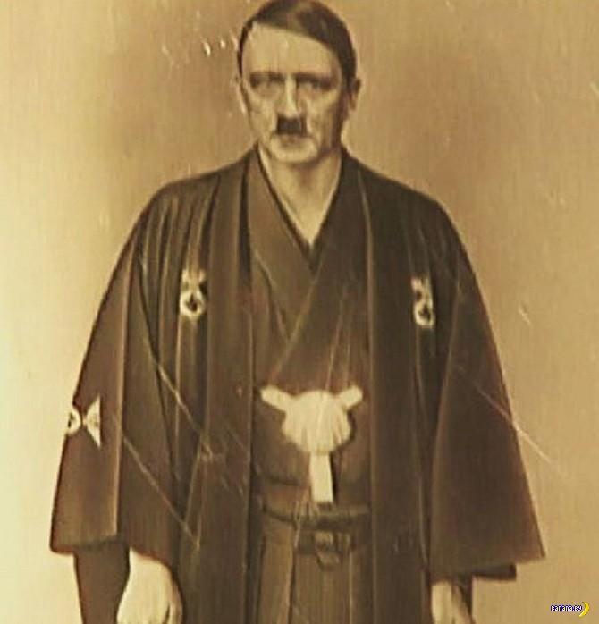 Обнаружено странное фото Адольфа Гитлера