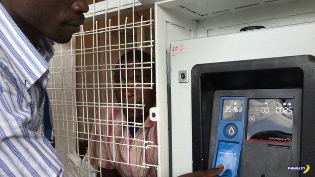 Автоматы по продаже воды в Кении