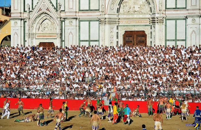 Требуем показывать у нас Calcio Storico!