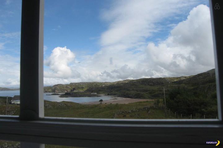 Микродомики: в шотландской глуши