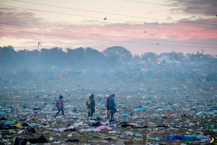 Мир после фестиваля Гластонбери