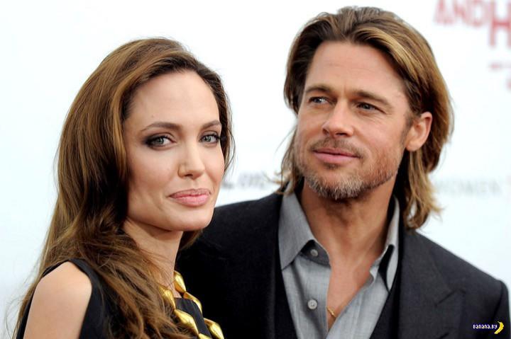 Джоли и Питт или разводятся, или не разводятся
