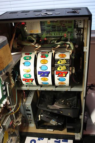 Игровые автоматы - от 19 до 21 века