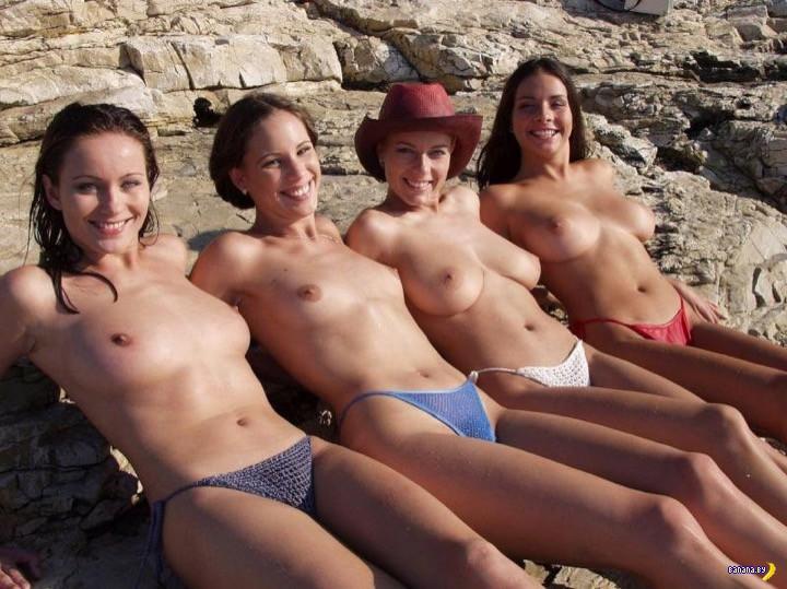 Российские мужчины против топлес на пляже?!