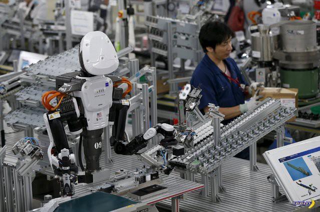 Роботы-гуманоиды забирают рабочие места