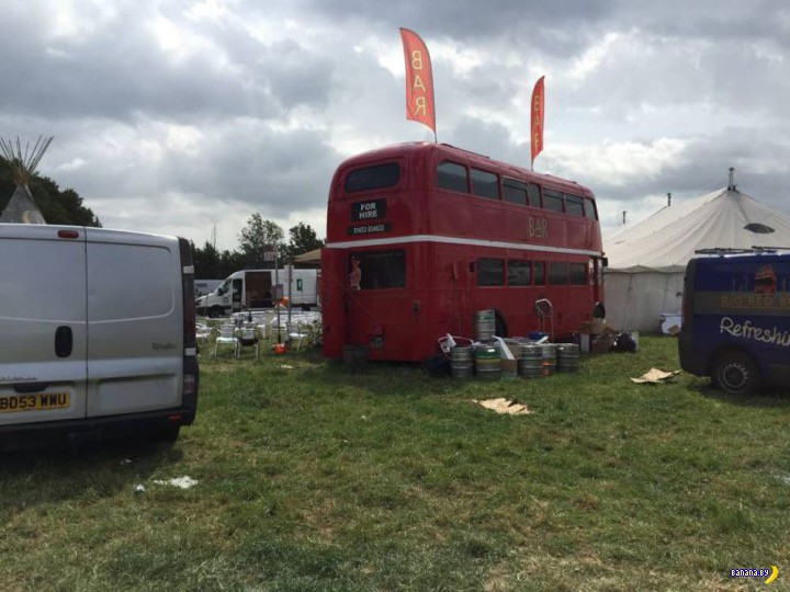 В Глостершире прошел фестиваль свингеров