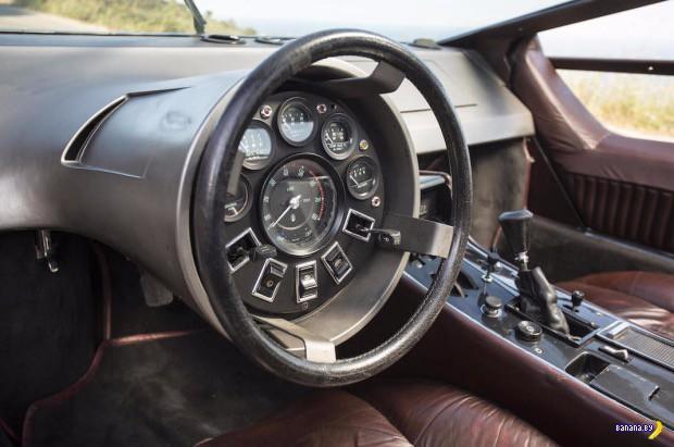 Зубило мечты – Maserati Boomerang 1972