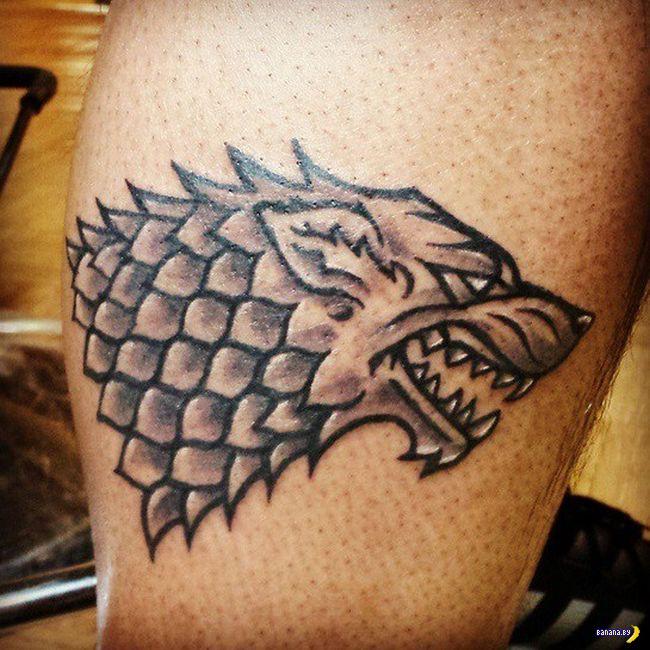 Татуировки на зависть - 39 - Игры Престолов