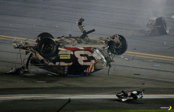 Вся прелесть гонок NASCAR