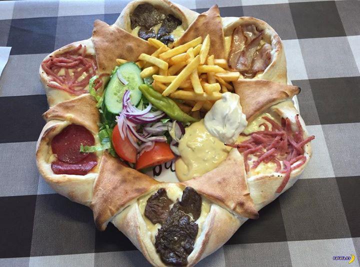 Очередная пицца для разрыва сердца