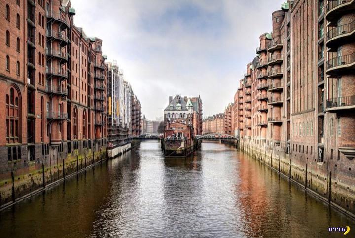 Гамбургский Speicherstadt