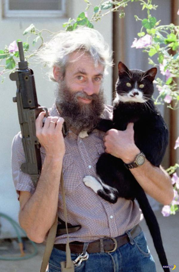 Мужчины с котами