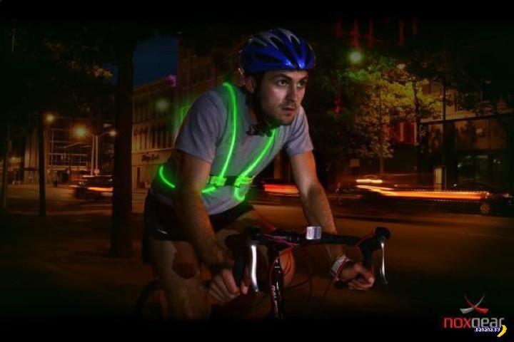 Заметный велосипедист