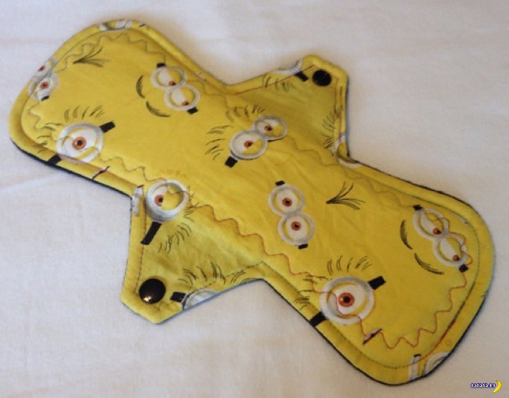Menstrual Pads с миньонами