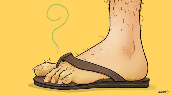 Мужчинам не рекомендуют носить открытую обувь