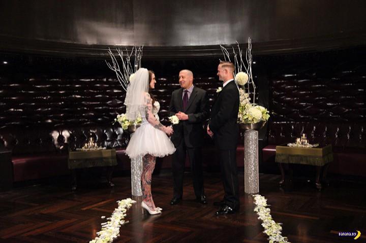 Казино зарабатывают и на свадьбах!