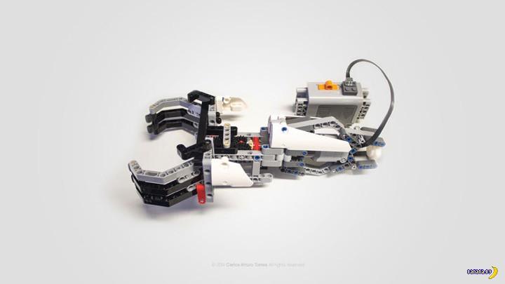 LEGO и протезы для детей