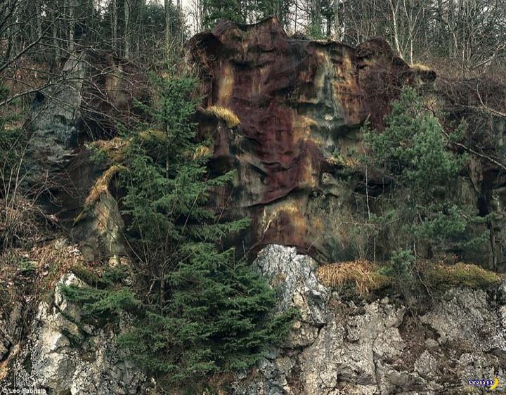 Замаскированные бункеры в Швейцарии