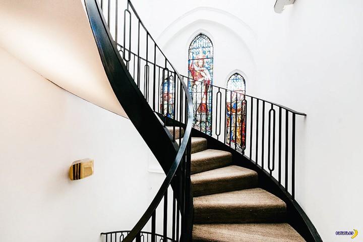 Лондонская церковь с секретом