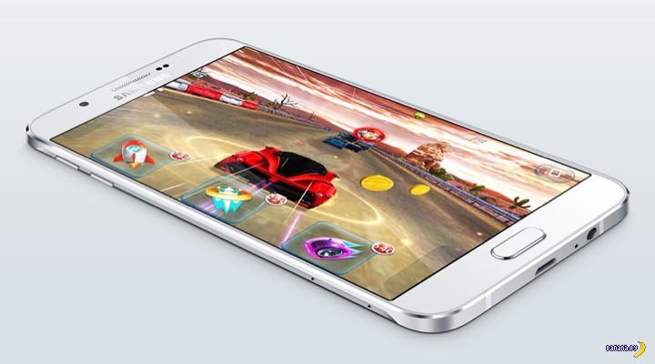 Тончайший Samsung Galaxy A8