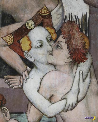 Загадка про поцелуи