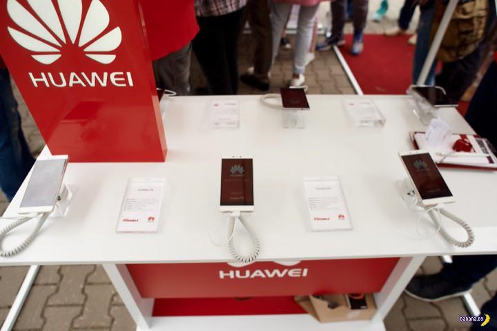 В Минске стартовали официальные продажи смартфона Huawei P8