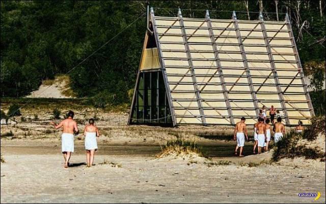 Общественная сауна в Норвегии