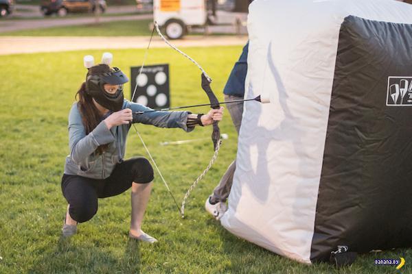 Новая активная забава – Archery Tag