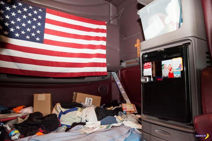 Быт американских дальнобойщиков