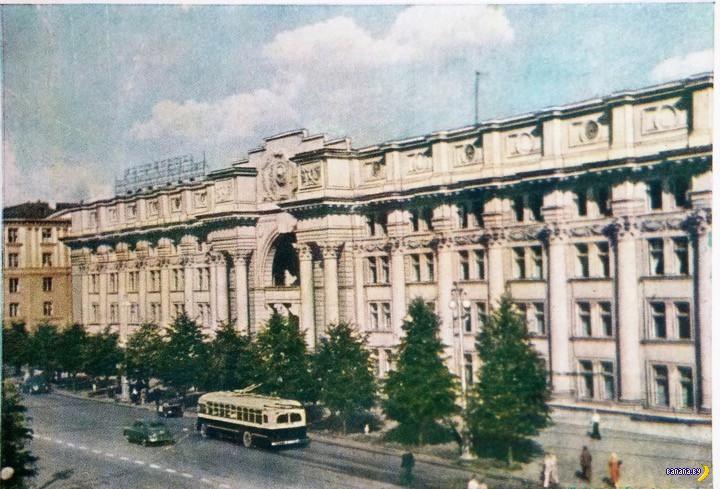 Минск на открытках 1956 года